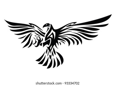 Tribal Eagle Images, Stock Photos & Vectors | Shutterstock