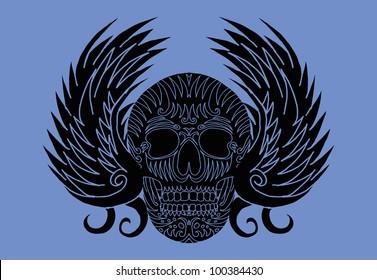 tribal eagle wings