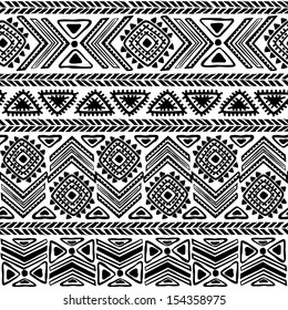 Tribal  ethnic seamless