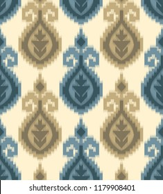tribal and ikat pattern on crime
