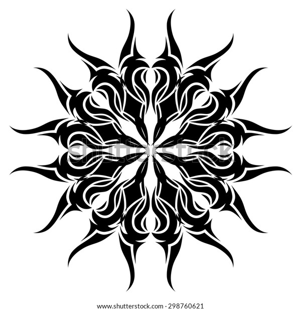 Tribal Mandala Tattoo Vector Designs Sketch Stock Vector Royalty Free 298760621,How To Burn Designs Into Wood