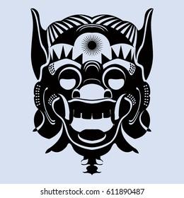 tribal mask images stock photos vectors shutterstock