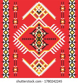 tribal pattern of north east india .