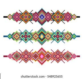 tribal pattern strip