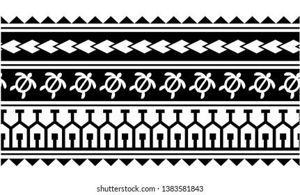tribal pattern tattoo, aboriginal samoan band, maori seamless art bracelets ornament, polynesian line tattoo pattern, maori black and white texture border, ethnic ornament tribal band