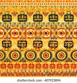 Tribal seamless pattern