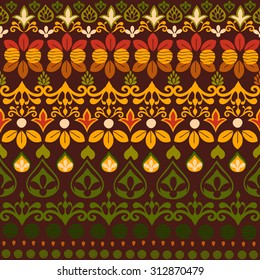 Tribal seamless pattern. It can be used for cloth, jackets , bags , notebooks , cards, envelopes , pads , blankets , furniture, packing