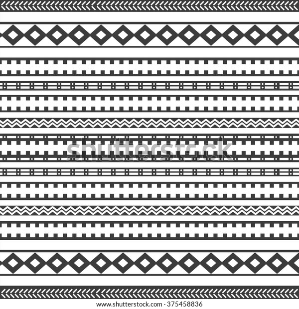 Tribal Seamless Texture Vintage Ethnic Seamless   Royalty-Free ...