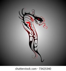 tribal snake