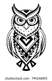 Owl Tattoo Images, Stock Photos & Vectors | Shutterstock