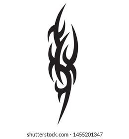 tribal tattoo design sketch vector design
