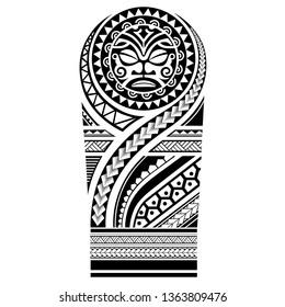 tribal tattoo maori pattern, art ethnic sleeve vector, aboriginal shoulder sun