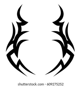 Tribal Tattoo Sketch Images Stock Photos Vectors Shutterstock