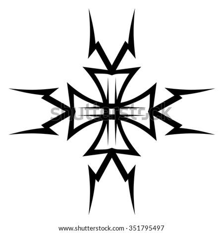 Tribal Tattoo Vector Design Sketch Art Stock Vector Royalty Free