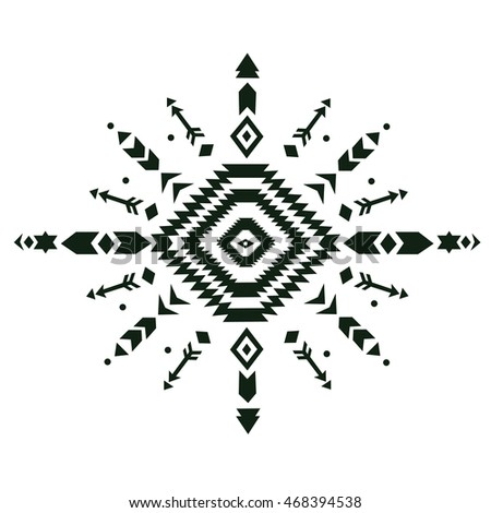 2fac403687cb4 Tribal vintage ethnic pattern. aztec fancy abstract geometric art print.  ethnic hipster backdrop.