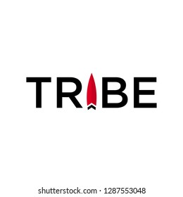 Tribe logo vector.