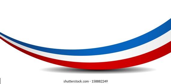 Tricolor Ribbon Images Stock Photos Vectors Shutterstock