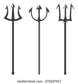 Trident vector illustration