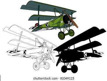 Triplane from the First World War