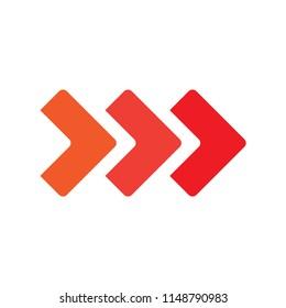 Triple arrow logo