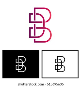 Triple Letter D logo