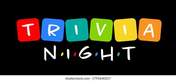 Trivia night on board games token