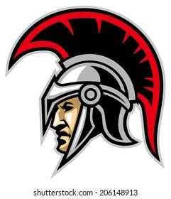 trojan army mascot