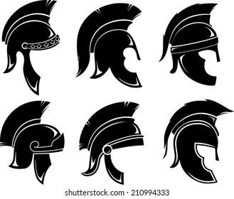 Trojan Helmet Set