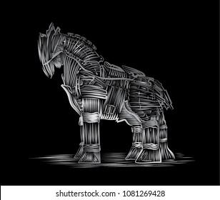 Trojan Horse, Greek