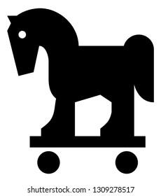 Trojan Horse Malware Icon