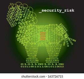 Trojan horse security risk
