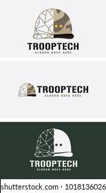 Troper Helmet Logo