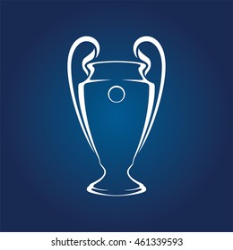 Champions League Trophy Vector Champions Image...