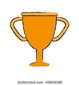 trophy draw illustration