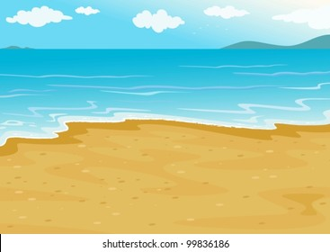 Cartoon island images stock photos vectors shutterstock tropical beach on a white background voltagebd Choice Image