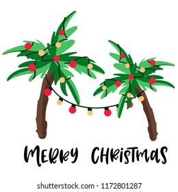 Christmas Palm Tree Images Stock Photos Vectors Shutterstock