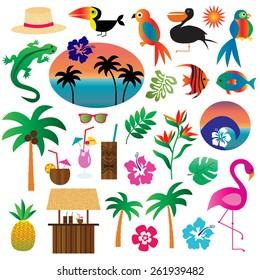 Tropical Clip art