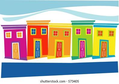 tropical houses
