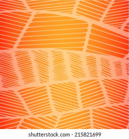Tropical Line pattern background vector