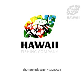 Imágenes, fotos de stock y vectores sobre Logo of Hawaii | Shutterstock
