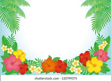 tropical resort background