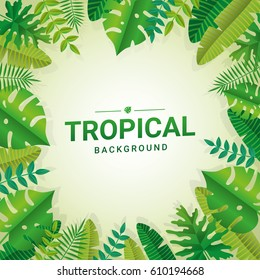 Tropical summer paper background