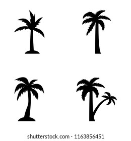 Tropical trees outline