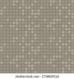 Truchet repeat design. Line art texture. Geometric seamless pattern for wallpapers, web page backgrounds, surface textures, fabric, carpet, home décor.