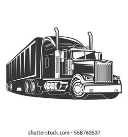 Truck cargo transport