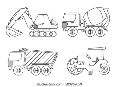 Vehicles Coloring Pages Images Stock Photos Vectors Shutterstock
