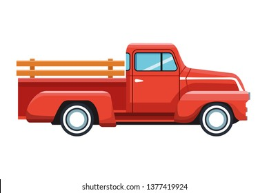 truck icon cartoon