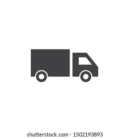 Truck icon ilustration vector template