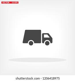 Truck icon Vector icon
