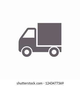 truck icon. Vector  Eps 10